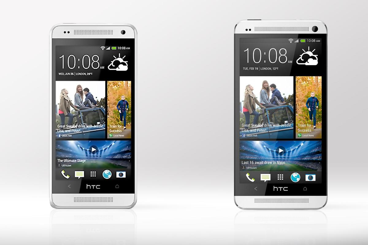 Gizmag compares the specs (and other features) of the new HTC One mini, and its big brother, the full-sized HTC One.