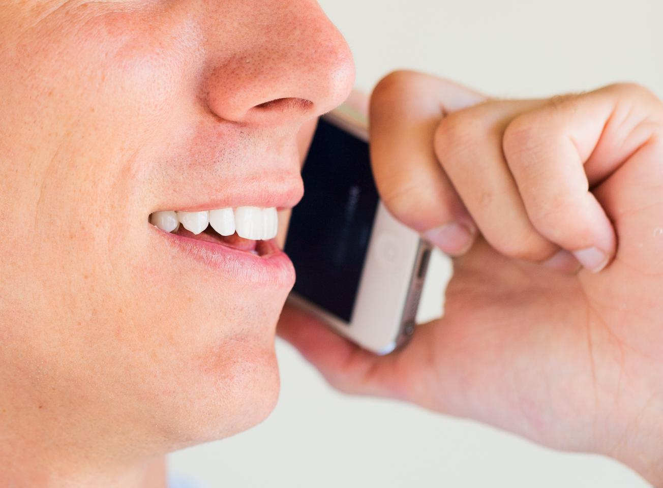 The PRIORI app looks for telltale changes in the speaker's speech patterns (Photo: Shutterstock)