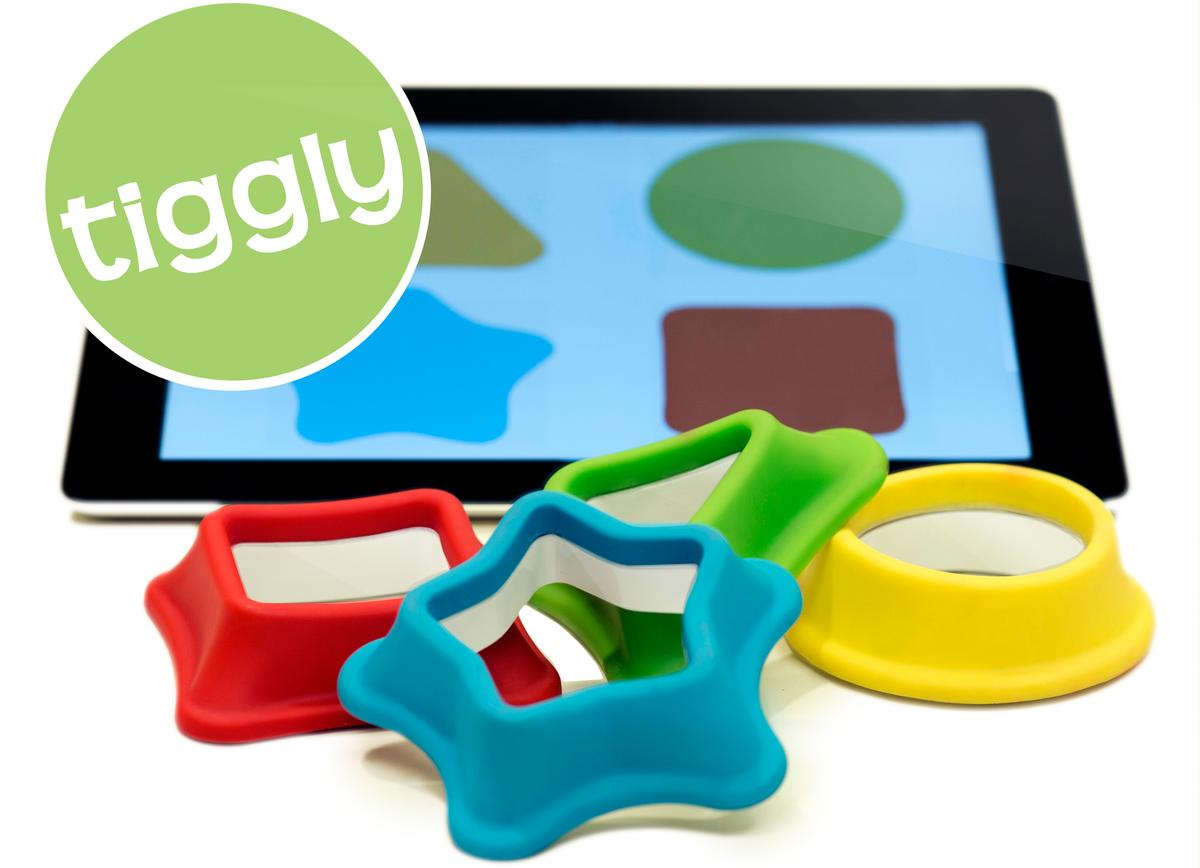 Tiggly Shapes is expected to start shipping in May