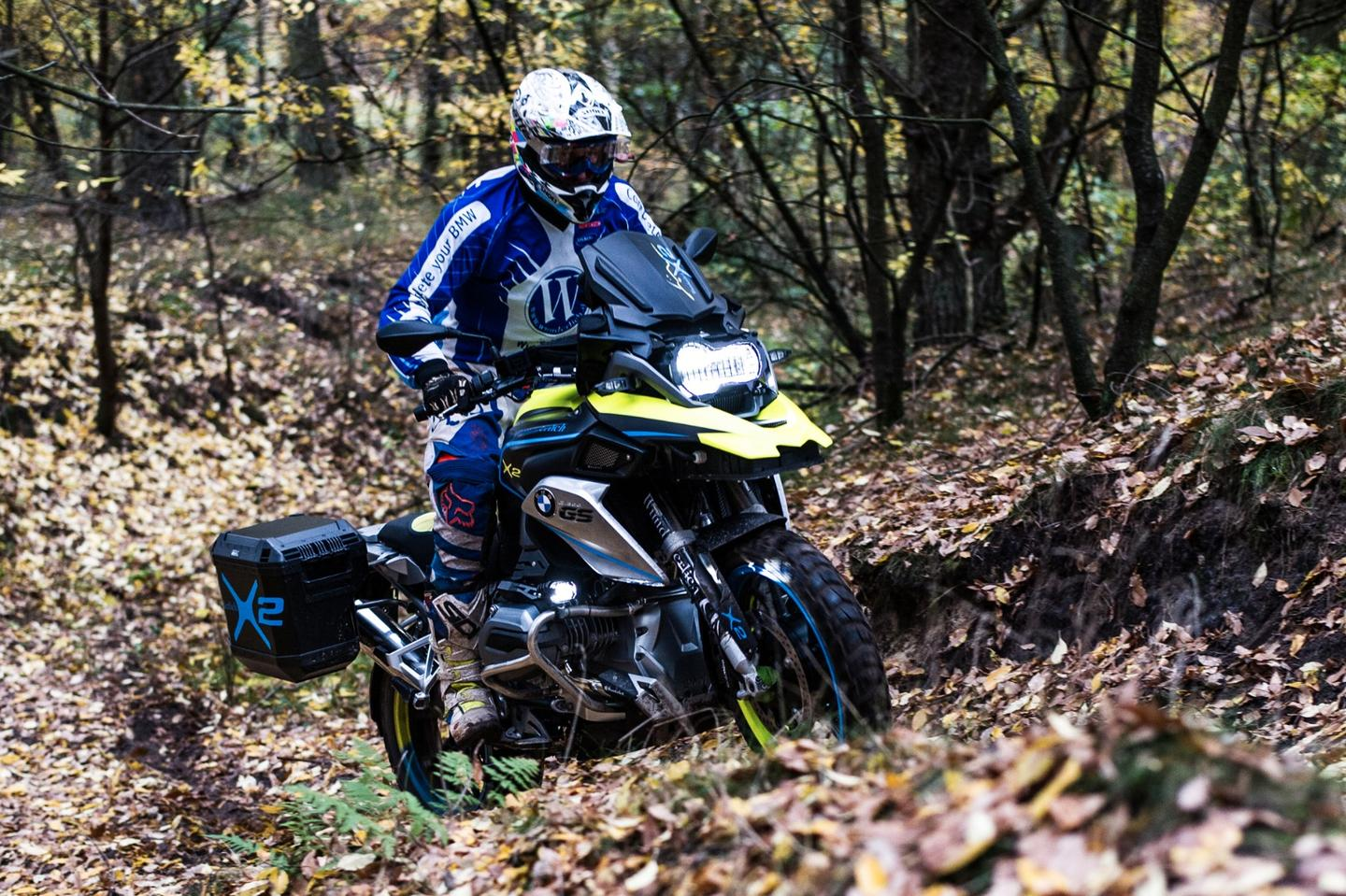 Wunderlich's 2WD BMW R1200GS LC: should be even more capable in the rough stuff