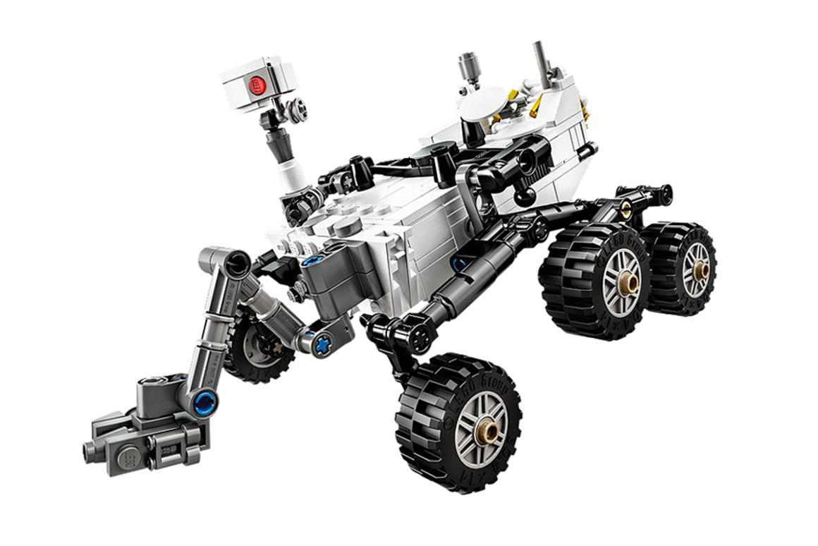 Designer Stephen Pakbaz, who worked on the NASA Rover, saw his concept become a reality thanks to Lego's CUUSOO program
