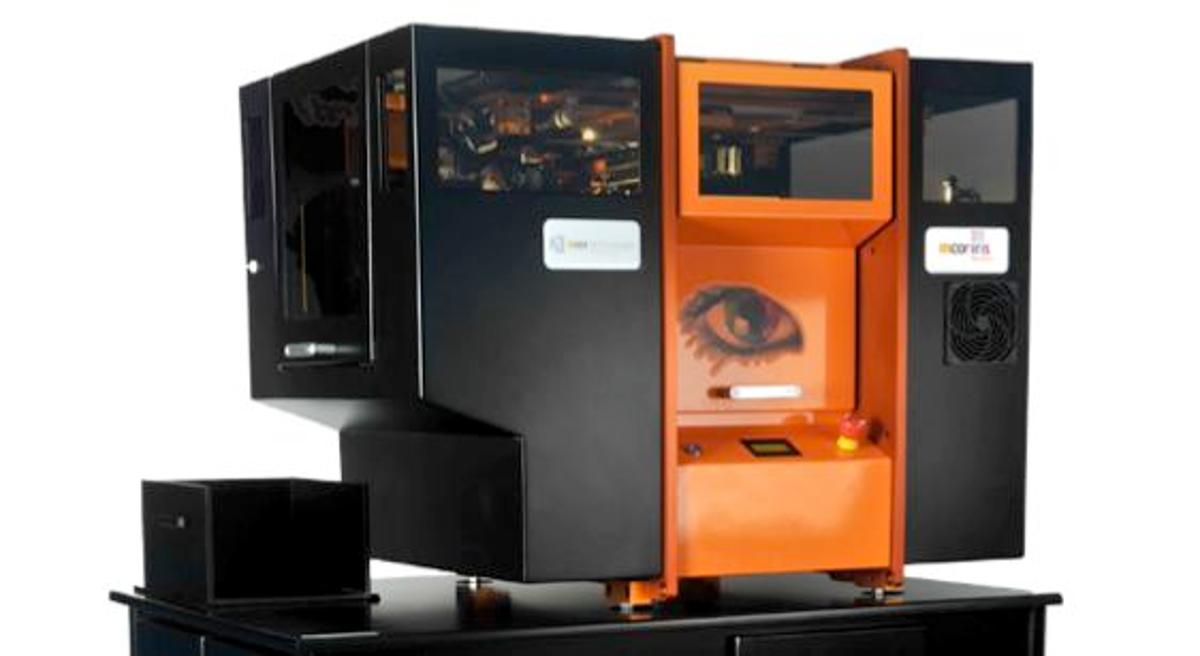The Mcor IRIS 3D paper printer, which will be used in the Staples Easy 3D service