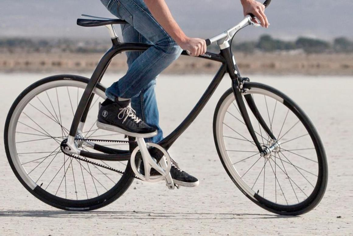 The Rizoma 77/011 is a very high-end carbon fiber commuter bicycle