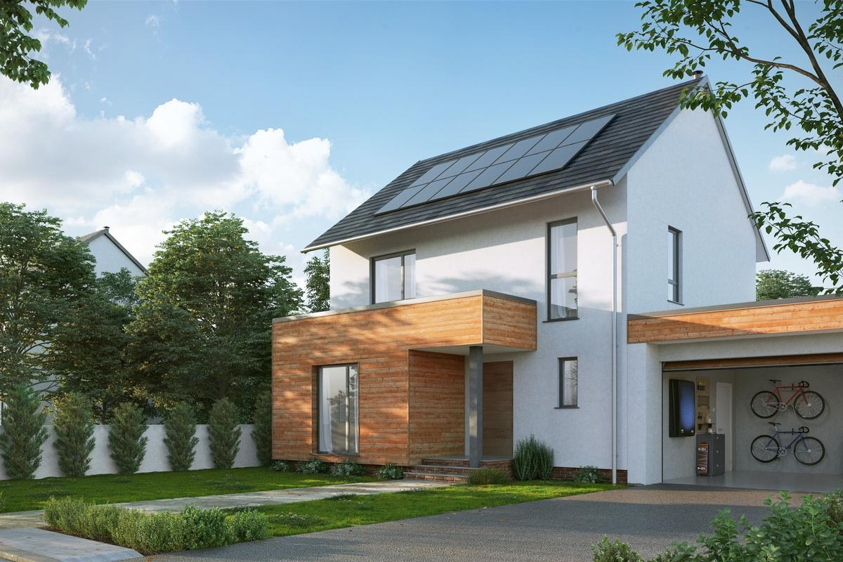 Nissan reckons its solar energy systemcan save UK homeowners up to 66 percent on their energy bills