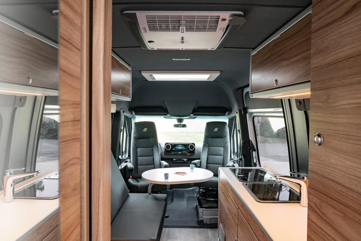 Hymer builds the ultimate Mercedes camper van for