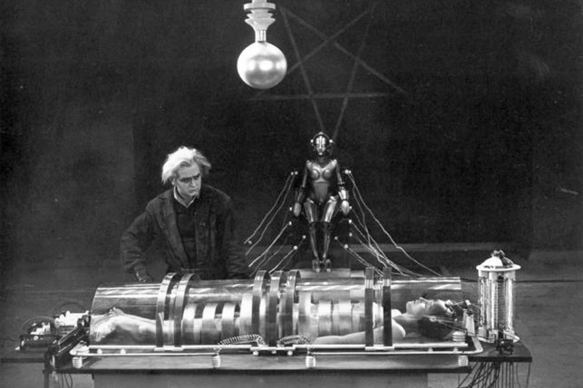 Neoroscientists claim that the transference of one's self to another body (as depicted here in the film 'Metropolis') is possible, on a psychological level