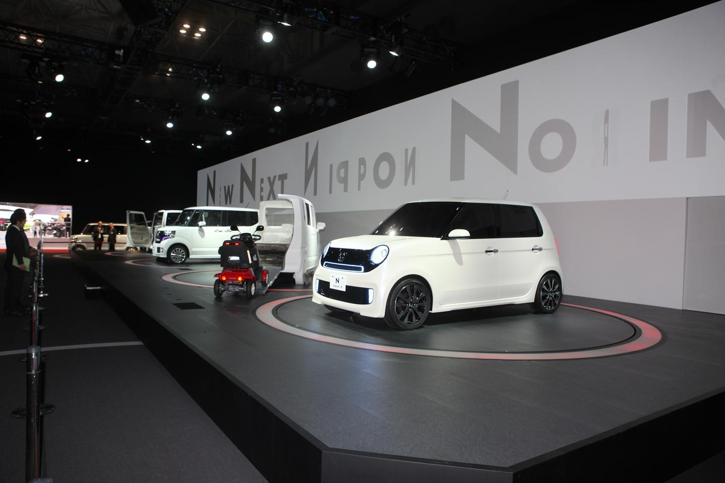 Honda's new N Box platform was purpose built for Japanese domestic market Kei car regulations - the idea was to create a comfortable, spacious passenger environment for four adults using the available real estate of a minicar platform.