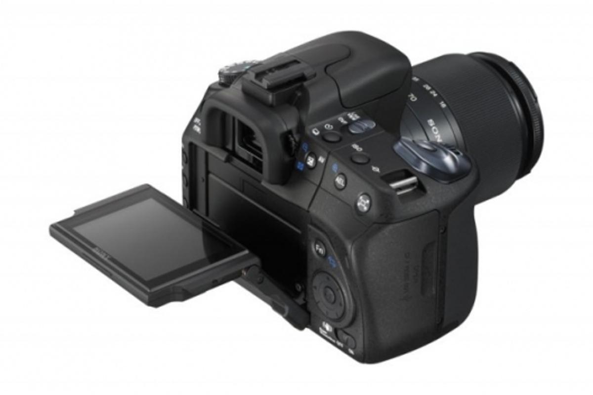Sony expand DSLR range