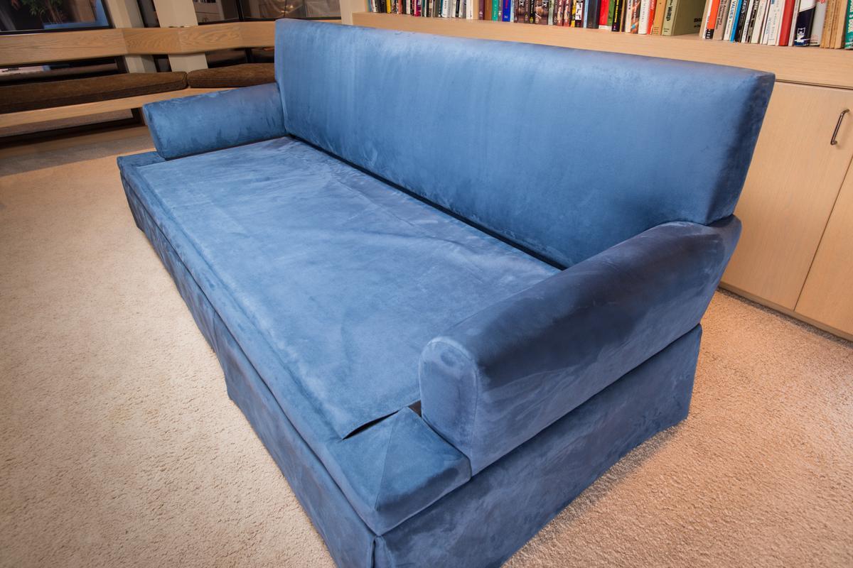 Gun Safe Beneath Bullet Resistant Cushions