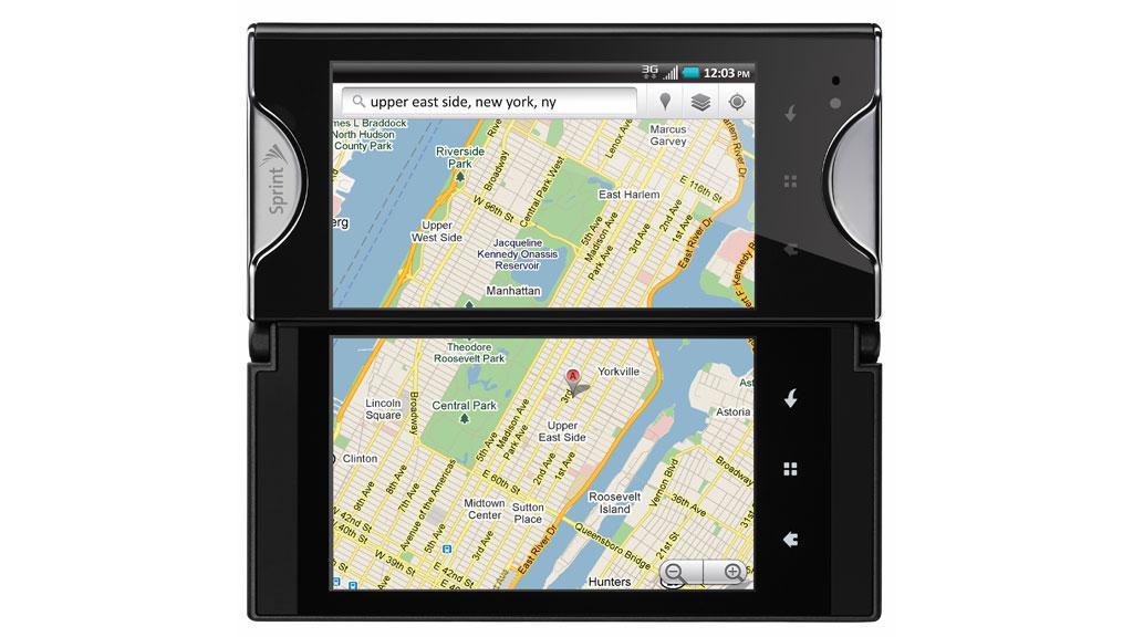 Kyocera's dual-touchscreen Echo smartphone