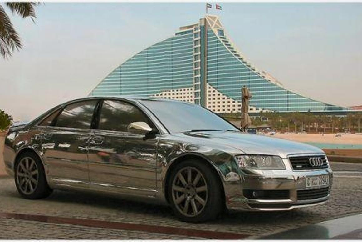 The Naked Audi A8 From Mtm