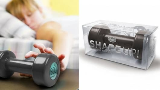 The Shape Up Alarm Clock Dumbell