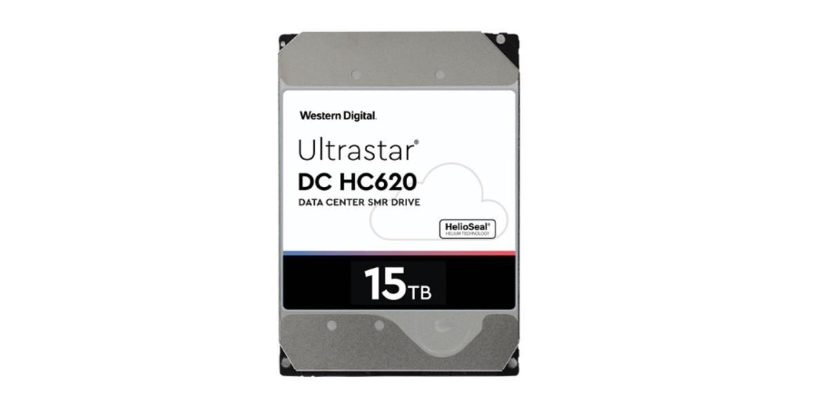 Western Digital's DCHC620 is theindustry's highest capacity HDD