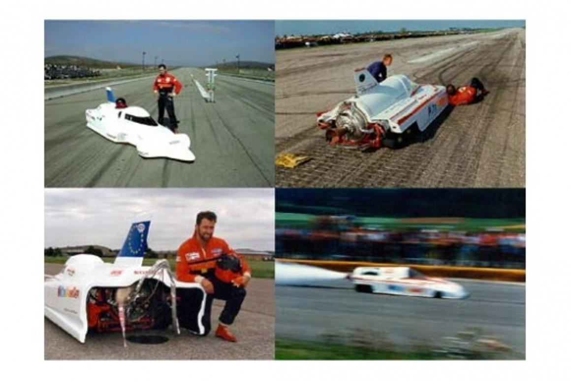 WORLD RECORD Water Rocket Car 0 - 343.5 kph in 2.5 sec