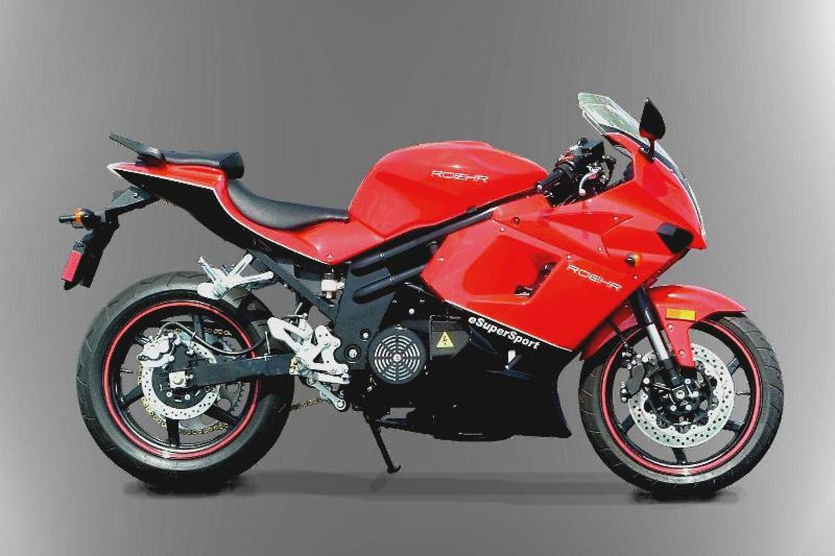 ROEHR's new 2011 eSuperSport electric motorcycle