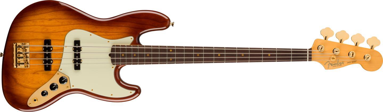 The Platinum Jazz Bass sports Custom Shop 60s pickups