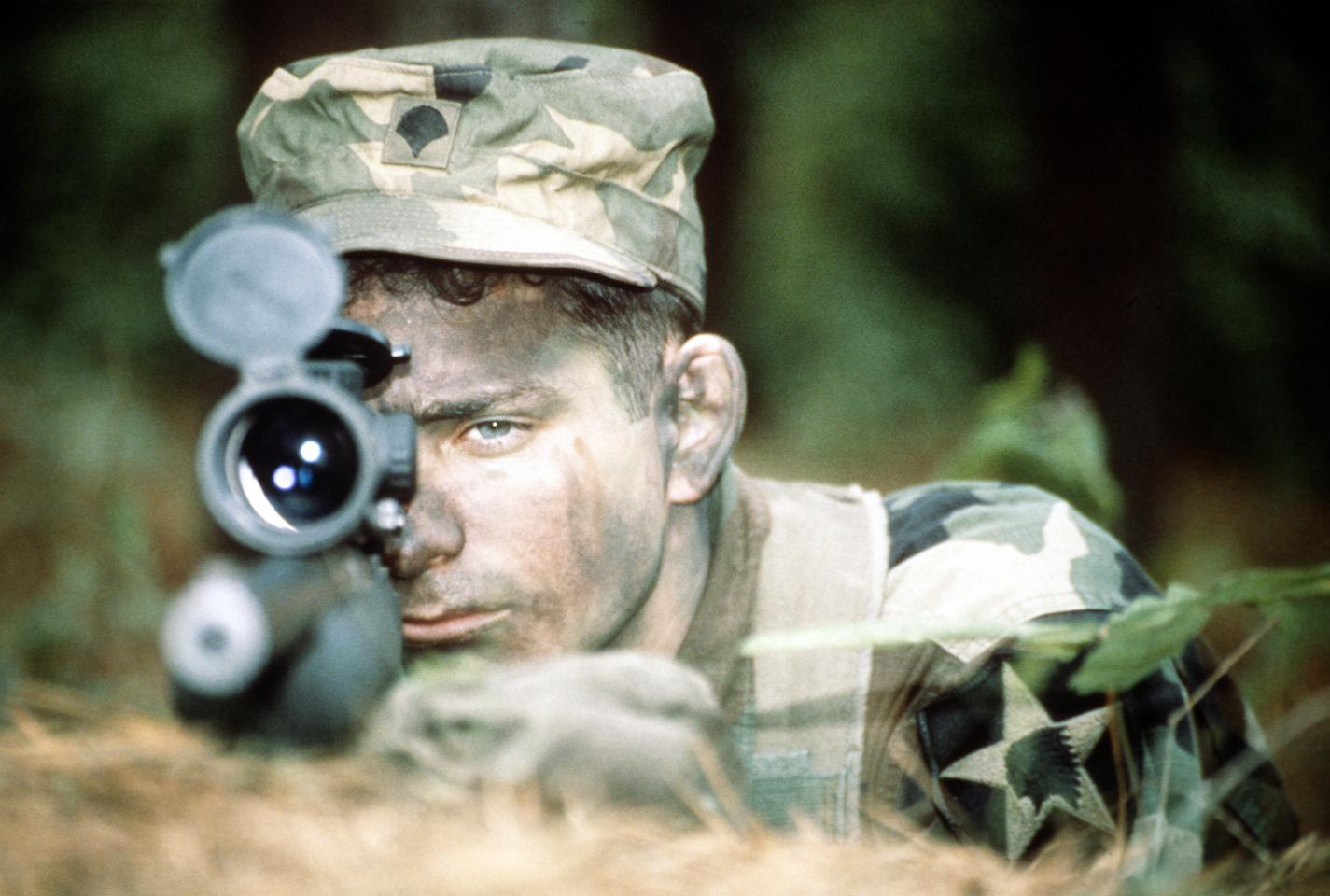 The sniper is one of the most feared specialists of war and he is one workman who definitely relies on the right tools.