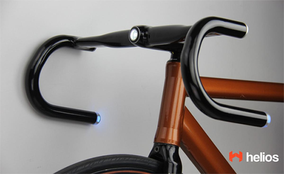 Helios Bars feature integrated lighting, along with several other high-tech features
