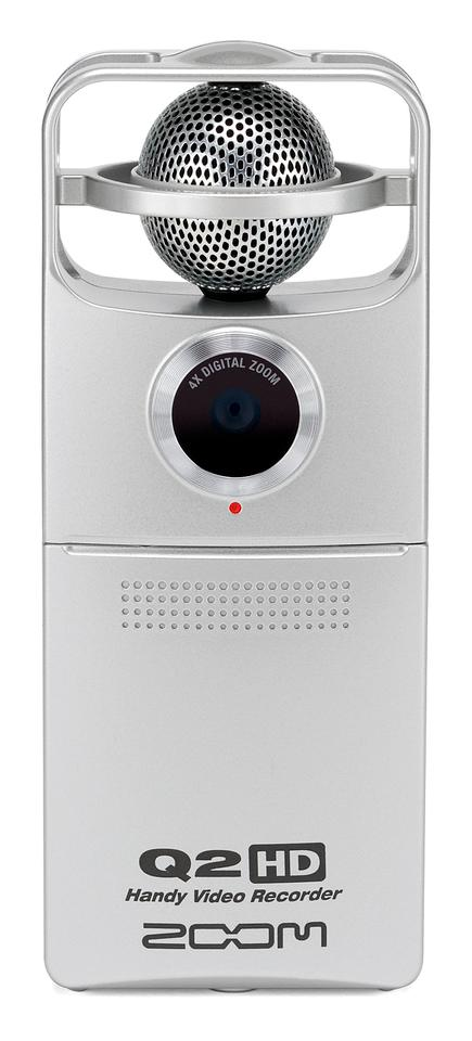 The Q2HD features an upgraded 5 megapixel CMOS sensor and a new fixed focus larger aperture (F3.2) lens and 4x digital zoom