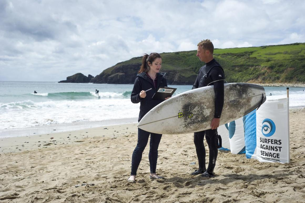 An antibiotic resistant form of E.coli is more likely to be found in the guts of surfers than non-surfers