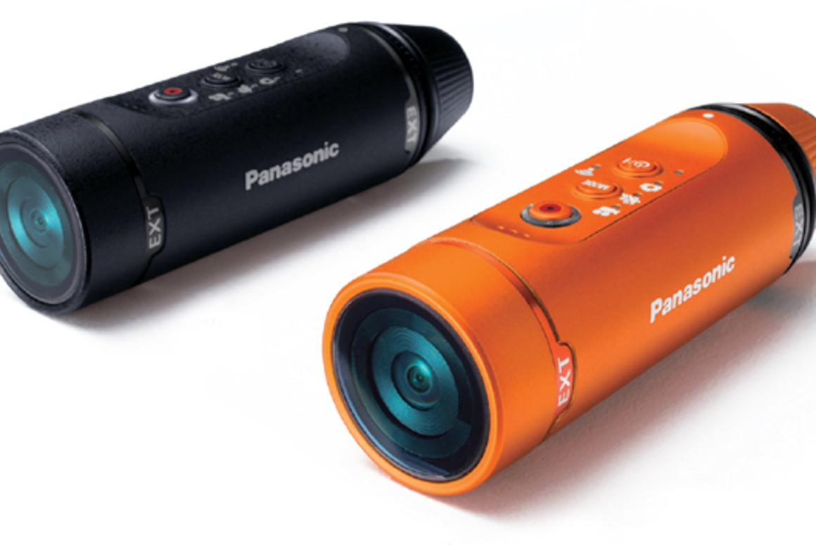 The Panasonic HX-A1 is a compact and tough wearable HD action camera