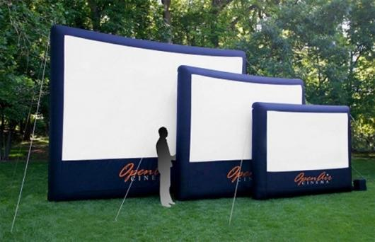 Open Cinema inflatable screen range