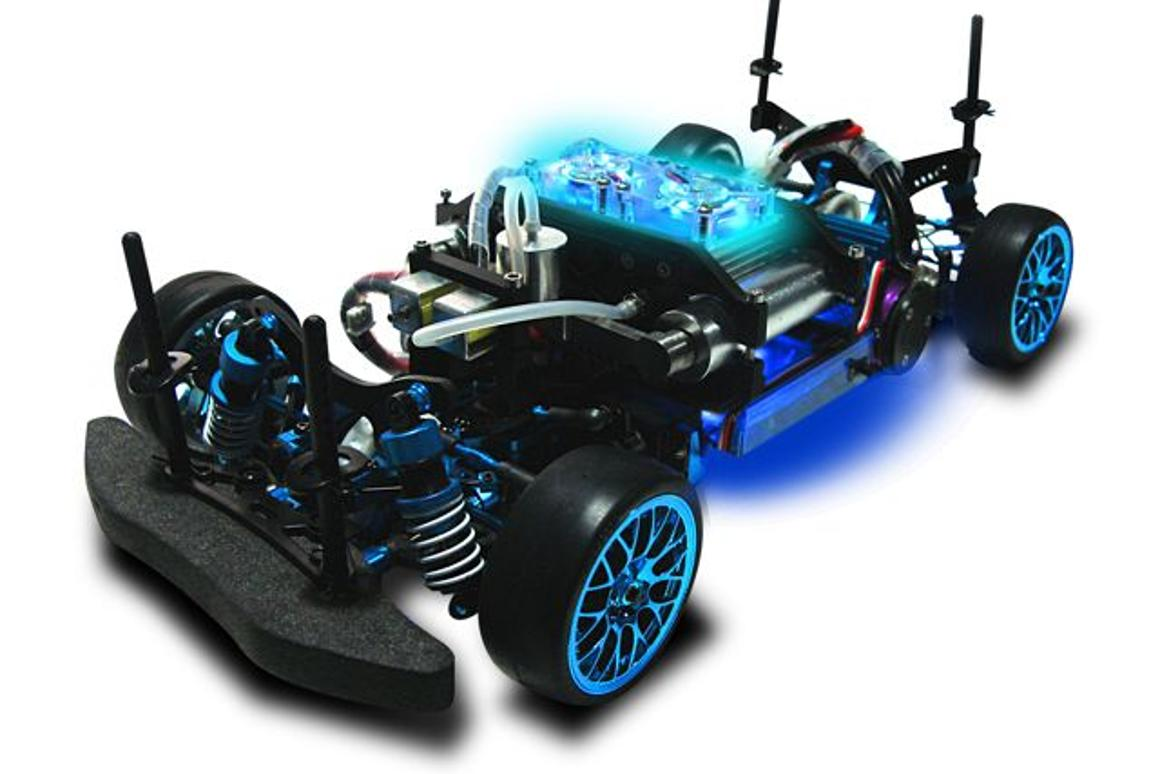 The H-Cell 2.0 hydrogen fuel cell, installed in a chassis