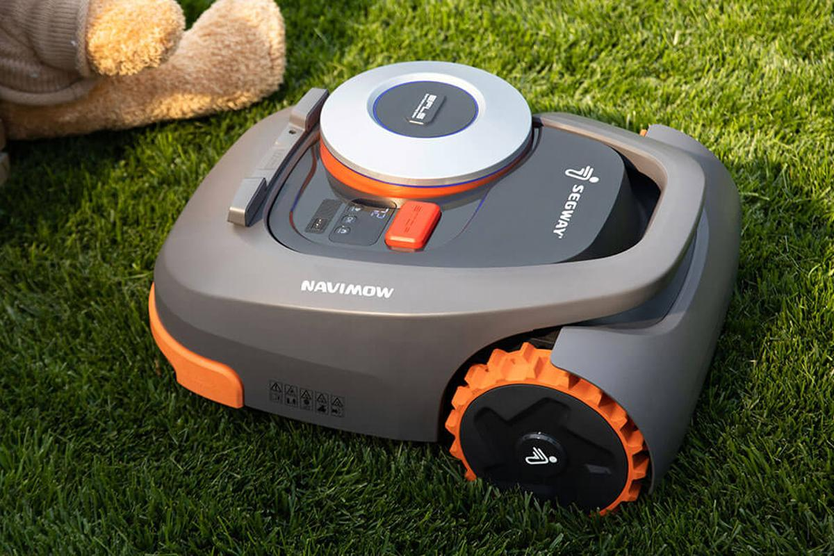 Segway has introduced its first robotic lawnmower, the Navimow