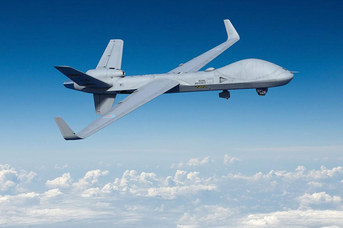 Protector RG Mk1 Remotely Piloted Air Systems (RPAS) can operate in civilian airspace