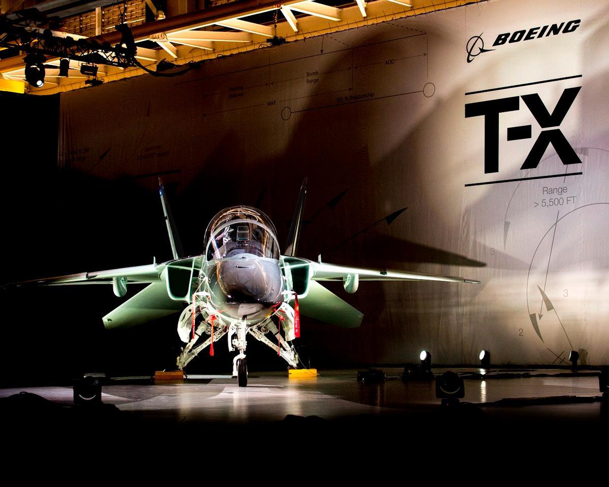 Boeing T-X jet fighter trainer makes maiden flight