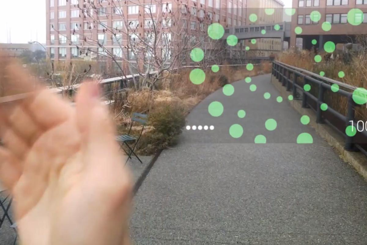Google has released five games for Glass