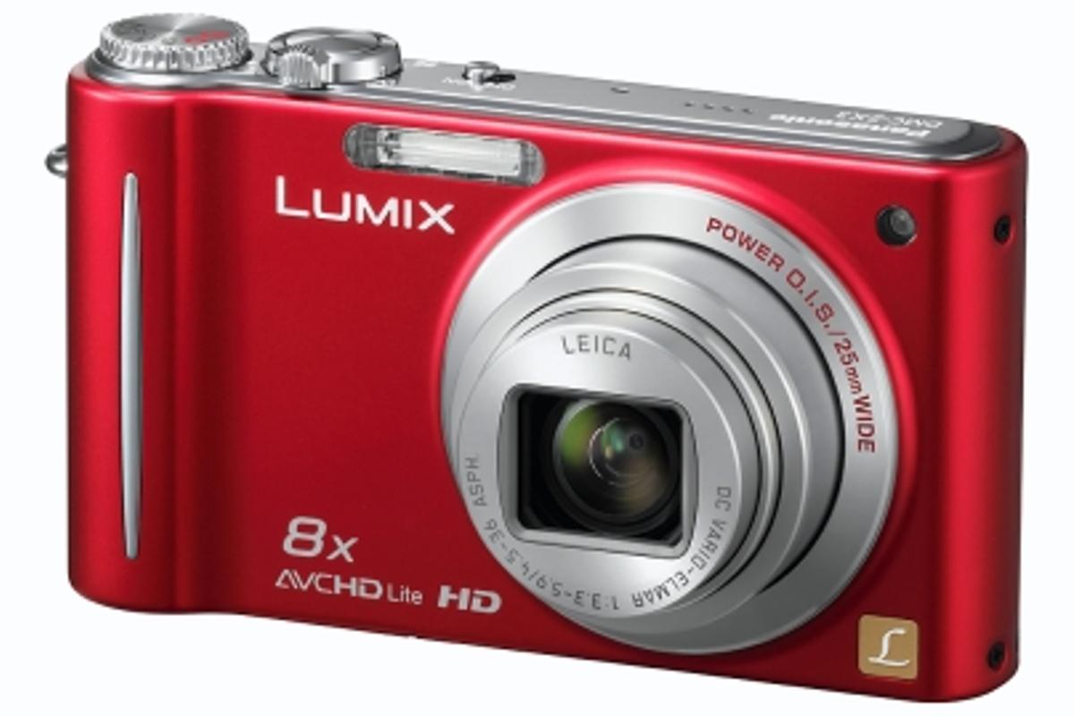 Panasonic's LUMIX DMC-ZR3 14.1Mp compact digital camera