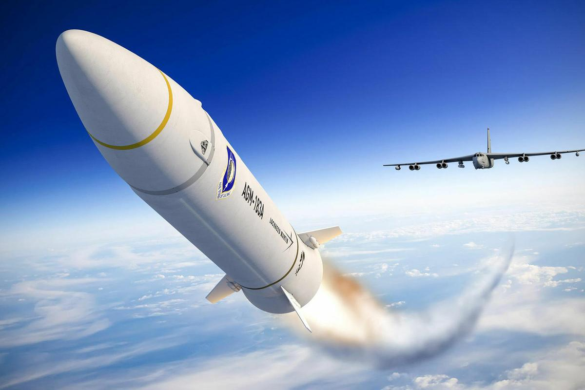 Artist's concept of the AGM-183A hypersonic missile