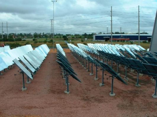 A similar Heliostat array already operating in Australia
