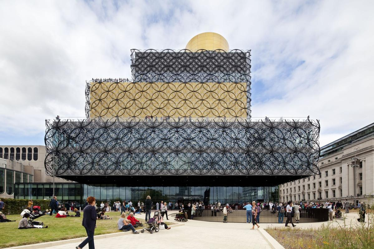 Netherlands-based firm Mecanoo has been declared the winner of this year's European Prize for Architecture. Its Library of Birmingham, pictured, is one of the firm's most distinctive designs to date