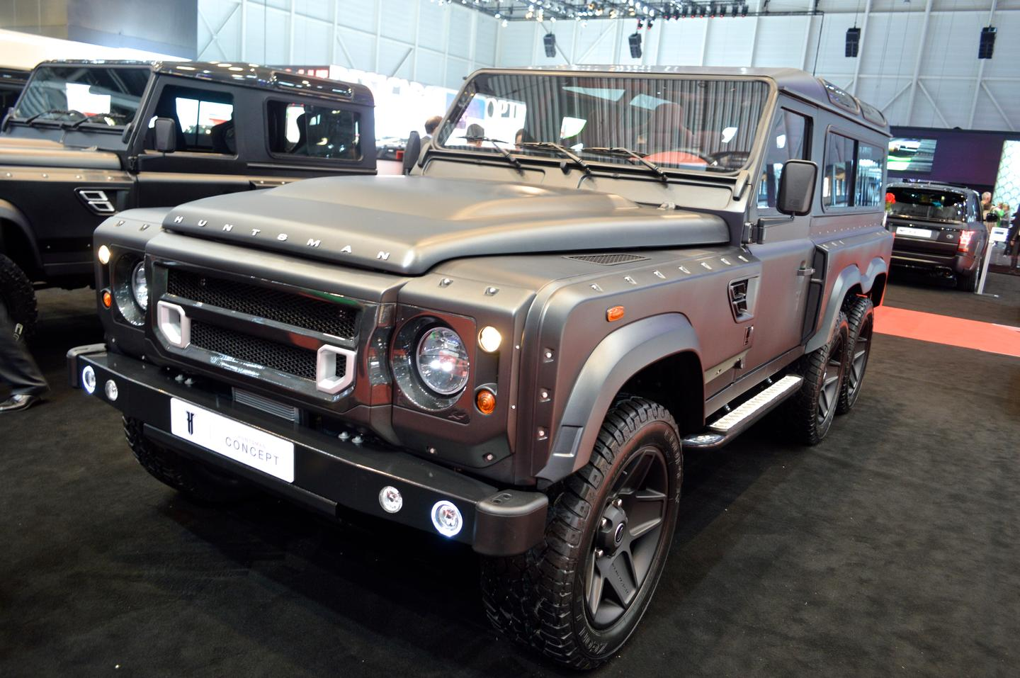 The Land Rover Defender 110 is transformed into the Flying Huntsman (Photo: C.C. Weiss/Gizmag.com)