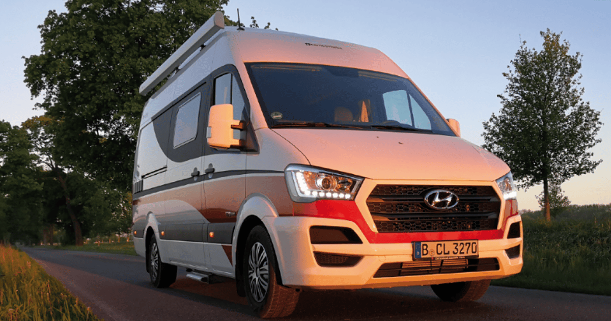 Camperliebe turns the Hyundai H350 into a sleek, smart camper van