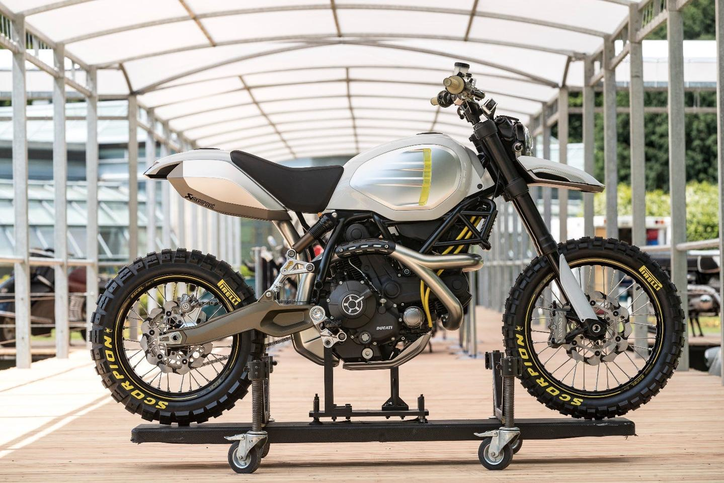 Ducati Scrambler Desert Sled custom concept: looks classy as well as fun to ride