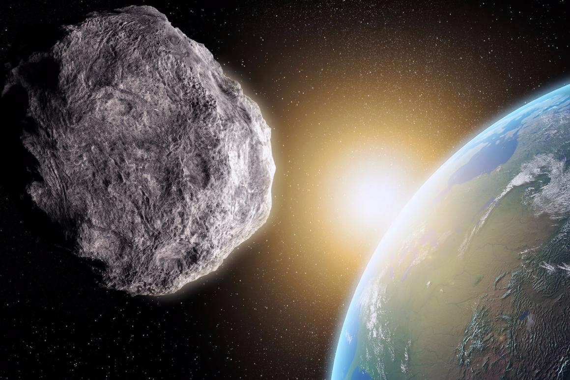 Asteroid 2015 TB145 (not pictured) will pass our planet on October 31, 2015 at approximately 1.3 times the distance from the Earth to the Moon