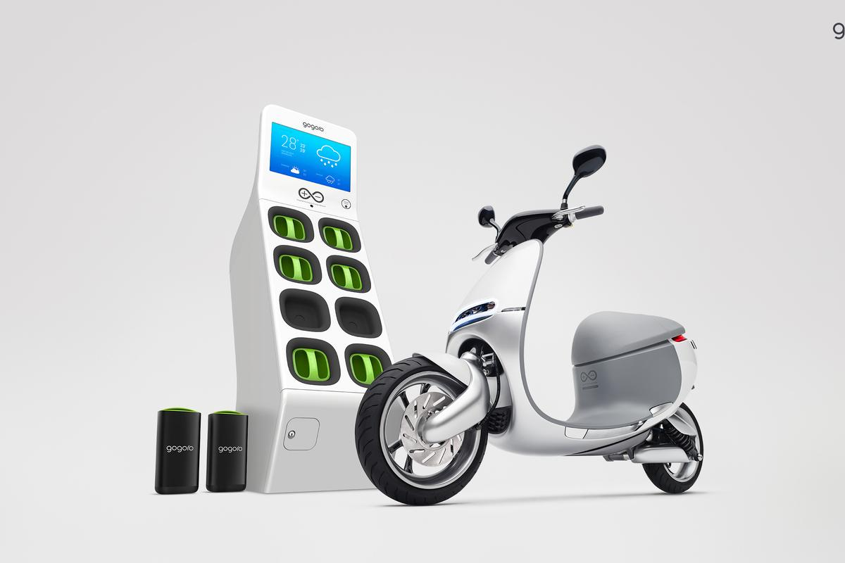 Announced at this week's CES, Gogoro hopes that its Smartscooter will change the way people in cities use energy to move around