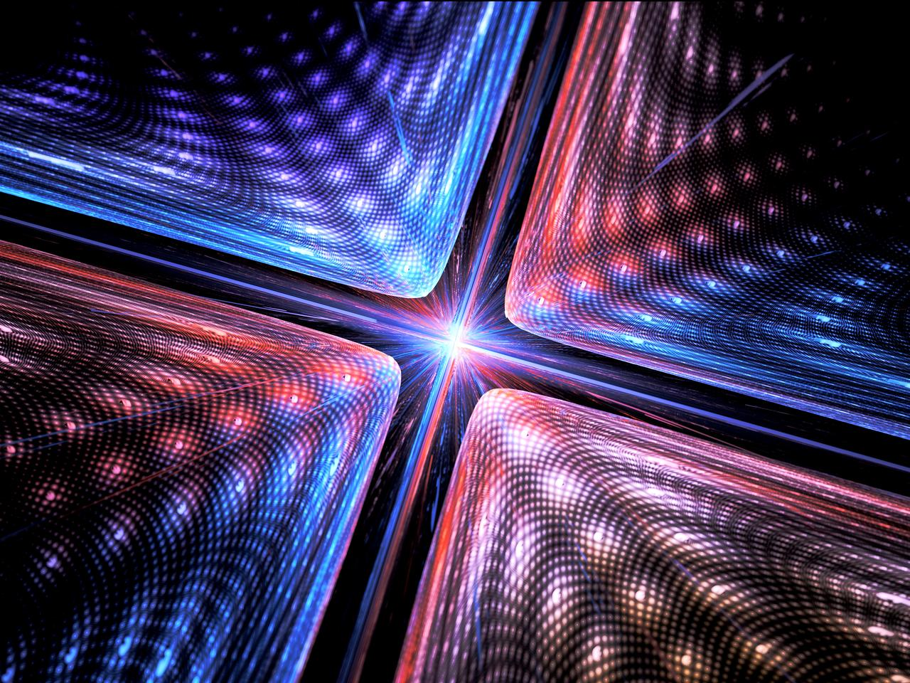 Researchers relied on lasers and supercool temperatures to trap their qubit