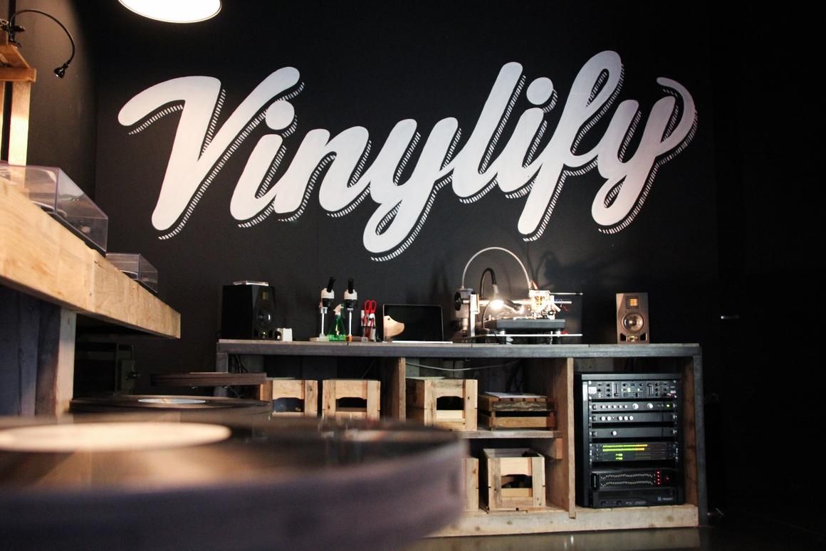 US customers can expect to receive their own Vinylify record within about 4-5 weeks