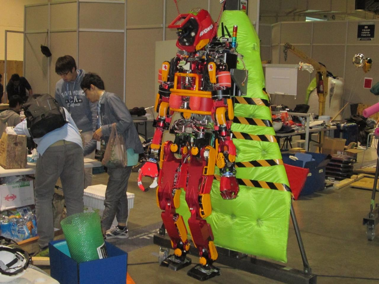 Robot JAXON of team NEDO-JSK