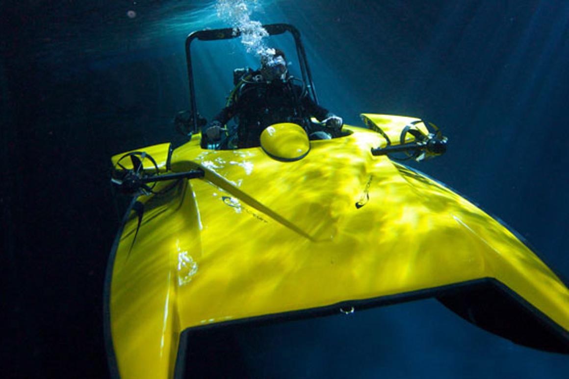The Scubacraft speedboat submarine