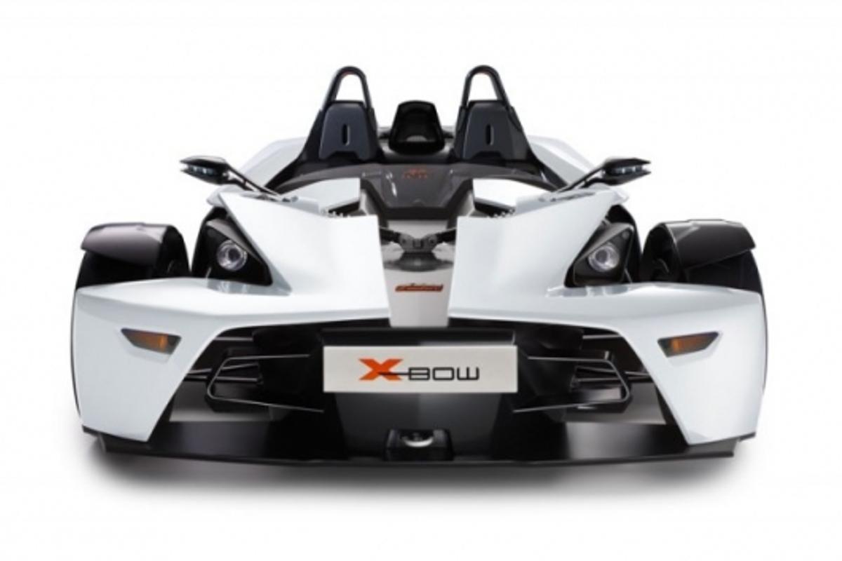 KTM X-Bow without the trademark orange