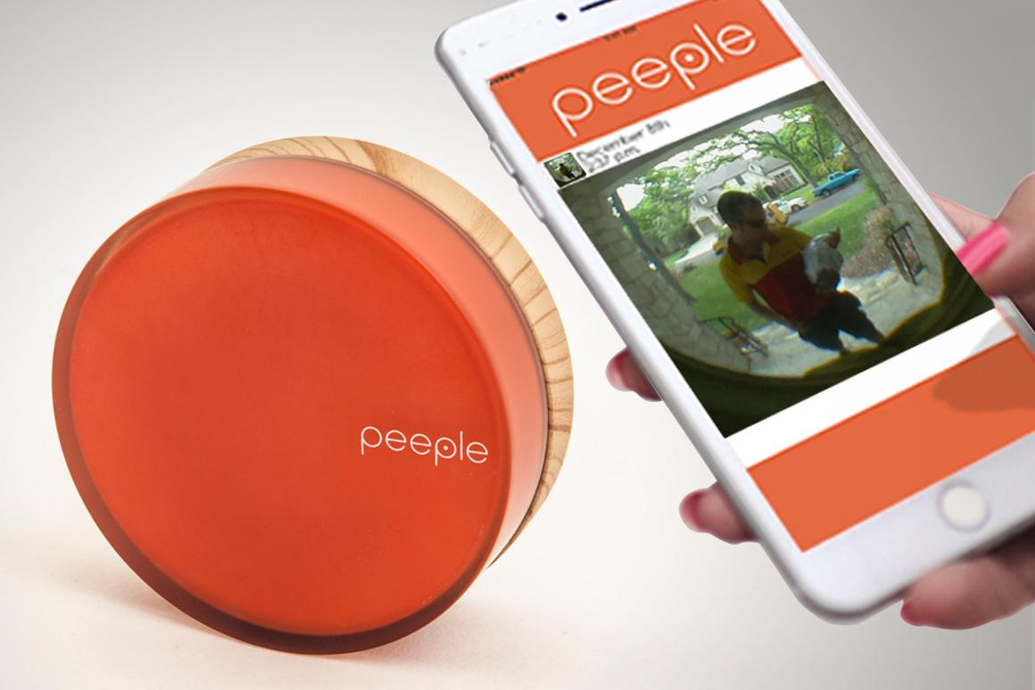 "Peeple is described as being like ""call display for your front door"""