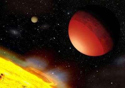 Scientists destroy simulated Earths to better understand exoplanets, such as Earth-like planets, such as CoRoT-7b seen here (Image: A. Leger et al./Icarus)