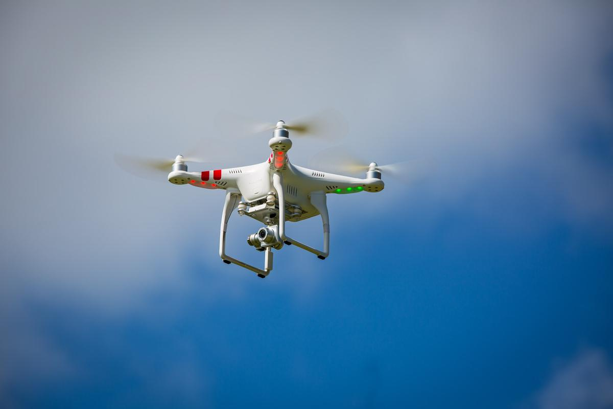 The Phantom 2 Vision+, the first true out-of-the-box stabilized camera drone (Photo: Noel McKeegan/Gizmag.com)