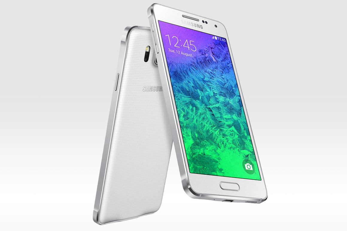 The Samsung Galaxy Alpha features stripped back internals and a renewed focus on fashionable design