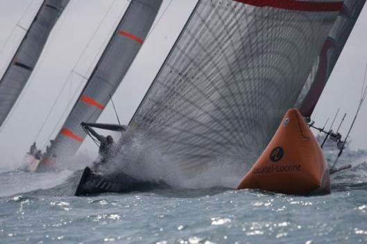 Valencia Louis Vuitton ACT 13Fleet Race.